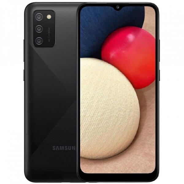 Смартфон Samsung Galaxy A02s, Dual SIM, 32GB, 3GB RAM, Black