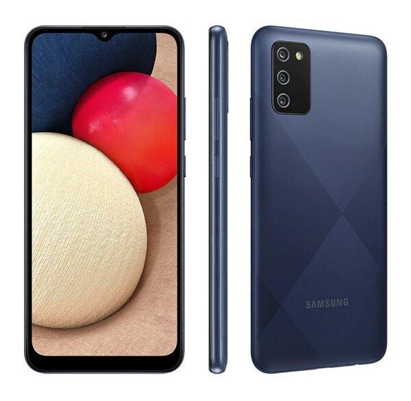 Смартфон Samsung Galaxy A02s Син, Dual SIM, 32GB, 3GB RAM, Blue