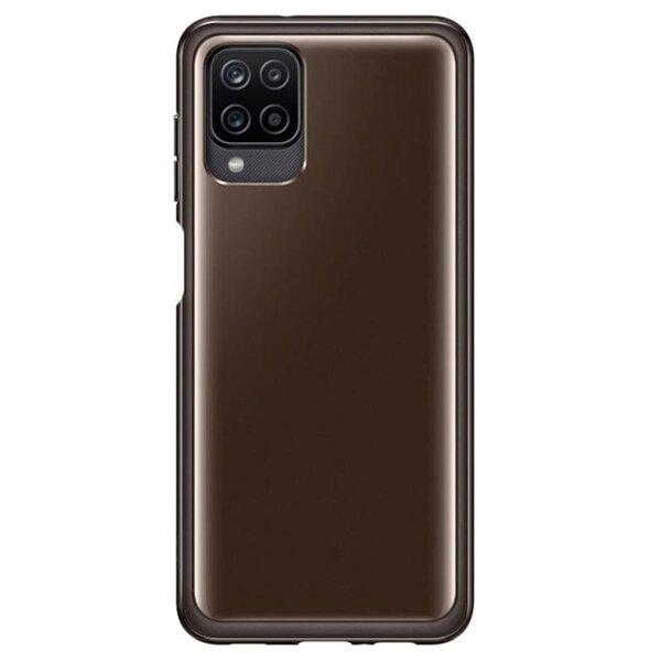 Калъф от Soft Clear Cover за Samsung A12 Black