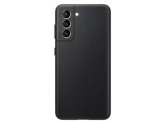 Калъф от Leather Cover за Samsung S21 Black