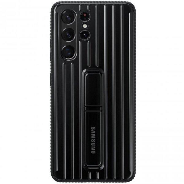 Калъф от Protective Standing Cover за Samsung S21 Black
