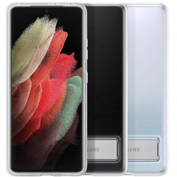 Калъф от Clear Standing Cover за Samsung S21Ultra Transperant