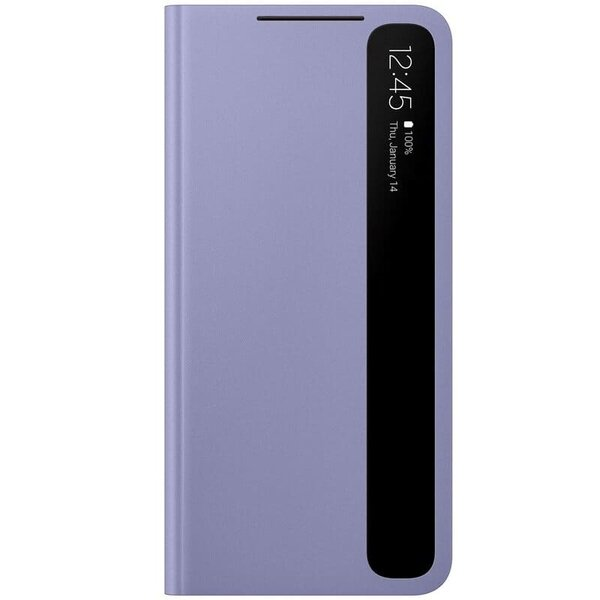 Калъф от Smart Clear View Cover за Samsung S21+ Violet