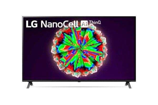 "LG 49NANO803NA, 49"" 4K IPS HDR Smart Nano Cell TV, 3840x2160, 200Hz, DVB-T2/C/S2, Quad Core Processor 4K, Cinema HDR, webOS ThinQ, AI functions, FreeSync, WiFi 802.11.ac, Voice Controll,"