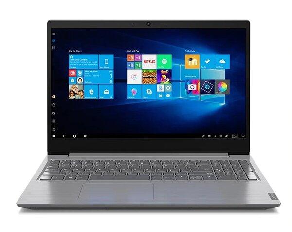 "Lenovo V15 Intel Core i3-10110U (2.1GHz up to 4.1GHz, 4MB), 8GB (4+4) DDR4 2667MHz, 256GB SSD, 15.6"" FHD(1920x1080) TN, AG, Intel UHD Graphics, WLAN ac, BT, Cam 0.3 mp, 2 cell, Iron grey,"