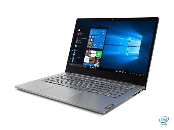 """Lenovo ThinkBook 14 Intel Core i5-1035G4 (1.1GHz up to 3.7GHz, 6MB), 8GB DDR4 2666MHz, 256GB SSD, 14"""" FHD (1920x1080) IPS, AG, Intel UHD Graphics, WLAN ac, BT, 720p Cam, Mineral Grey, KB"""