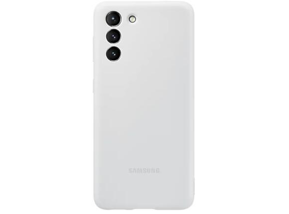 Калъф от Silicone Cover за Samsung S21 Light Gray