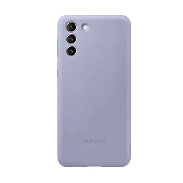 Калъф от  Silicone Cover за Samsung S21+ Violet