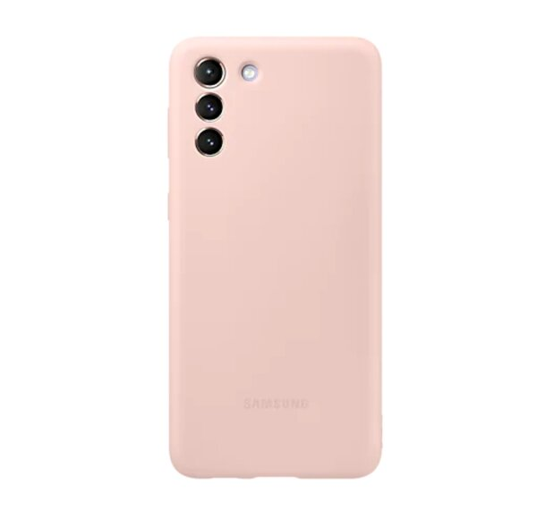 Калъф от Silicone Cover за Samsung S21+ Pink