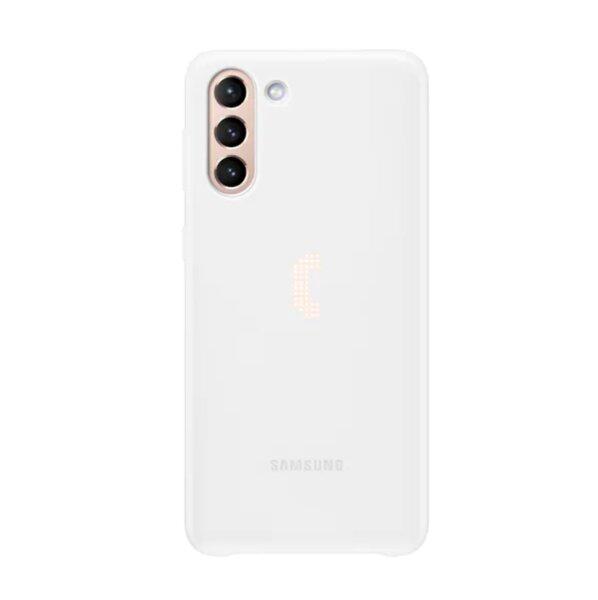 Калъф от Smart LED Cover за Samsung S21+ White