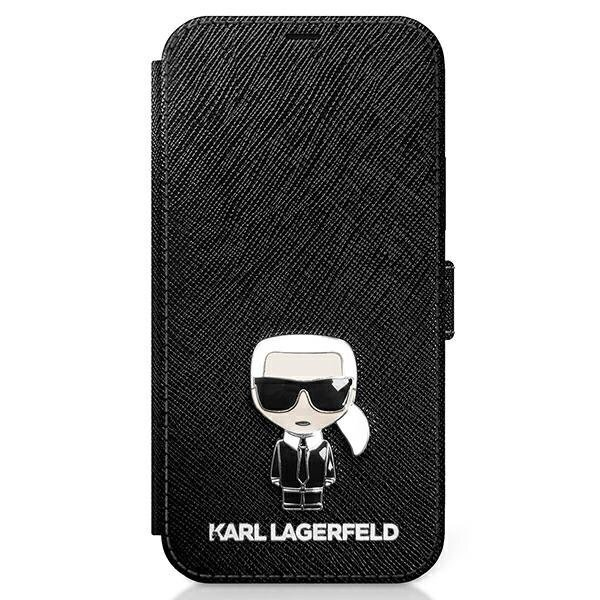 Калъф от Karl Lagerfeld за Apple iPhone 12/12 Pro Saffiano Iconic Book Case