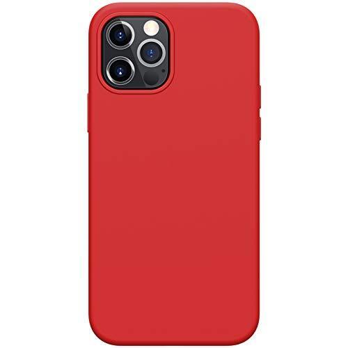 Силиконов Калъф от Nillkin Flex Pure Liquid за iPhone 12/12 Pro - Red