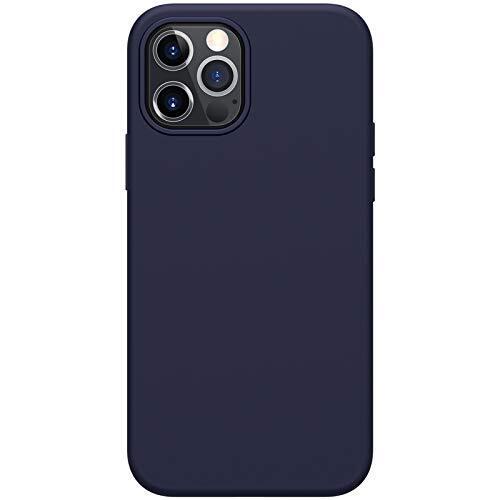 Силиконов Калъф от Nillkin Flex Pure Liquid за iPhone 12/12 Pro - Blue