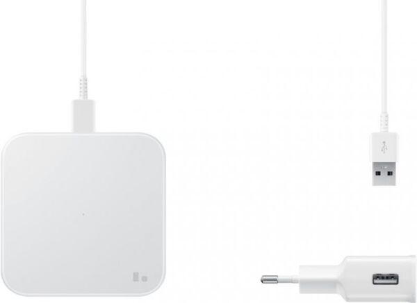 Зарядно устройство - Samsung Wireless Charger Pad (w TA) White