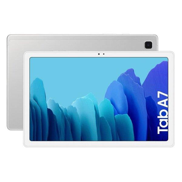 """Таблет Samsung Galaxy Tab A7, Octa-Core, 10.4"""", 3GB RAM, 32GB, Wi-Fi, Silver"""