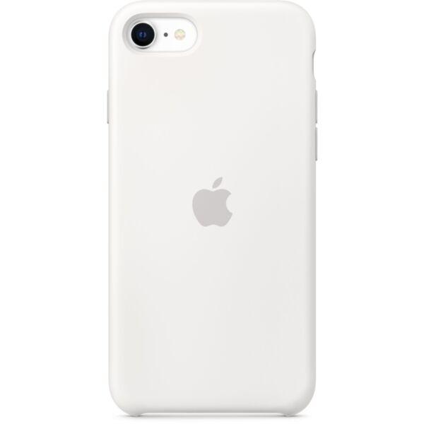 Силиконов Калъф от Apple за iPhone SE2 - White