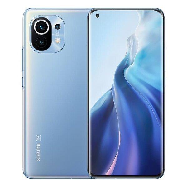 Смартфон Xiaomi Mi 11, Dual SIM, 256GB, 8GB RAM, Horizon Blue