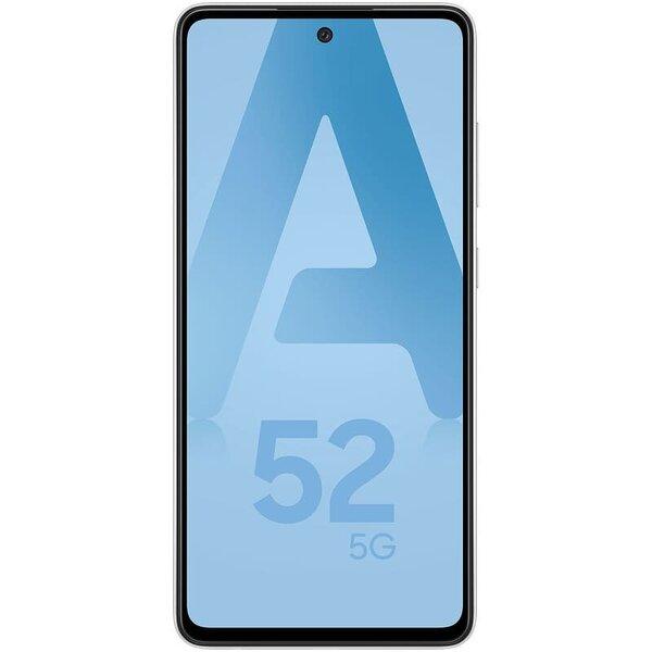 Смартфон Samsung Galaxy A52, Dual SIM, 128GB, 6GB RAM, 5G, White