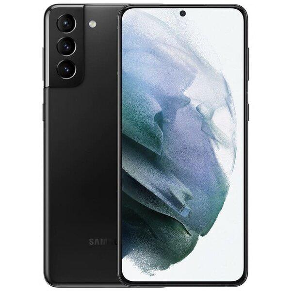 Смартфон Samsung Galaxy S21 Plus, Dual SIM, 256GB, 8GB RAM, 5G, Phantom Black