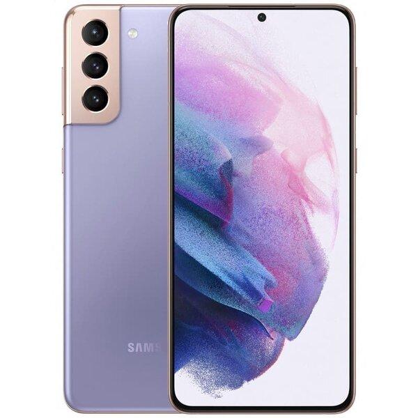 Смартфон Samsung Galaxy S21 Plus Виолетов, Dual SIM, 256GB, 8GB RAM, 5G, Phantom Violet