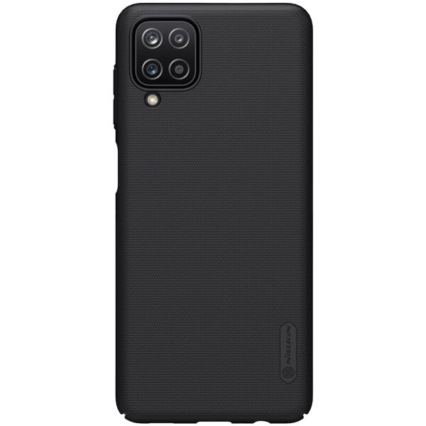 Калъф от Nillkin Frosted Shield за Samsung Galaxy A12 - Black