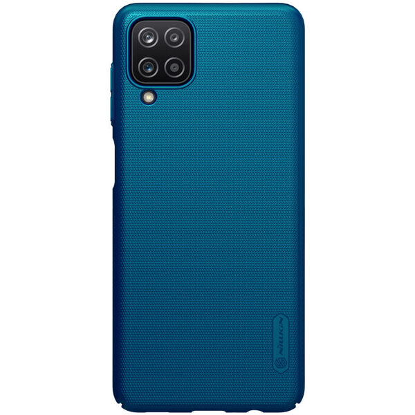 Калъф от Nillkin Frosted Shield за Samsung Galaxy A12 - Blue