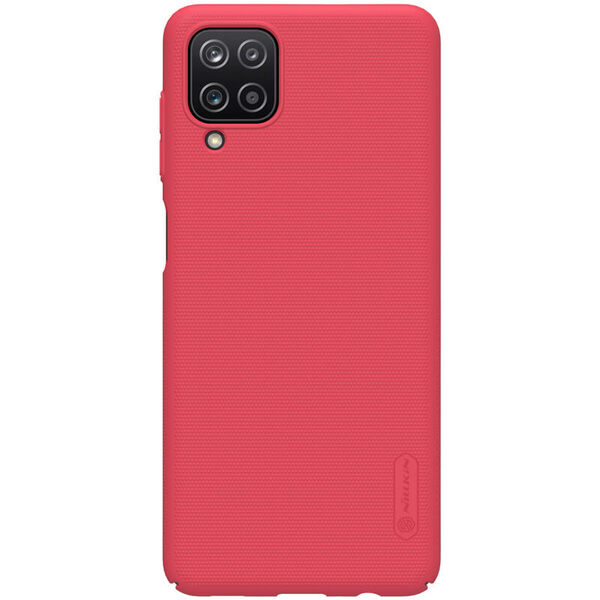 Калъф от Nillkin Frosted Shield за Samsung Galaxy A12 - Red