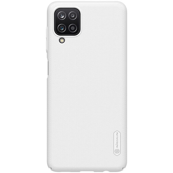 Калъф от Nillkin Frosted Sheild за Samsung Galaxy A12 - White