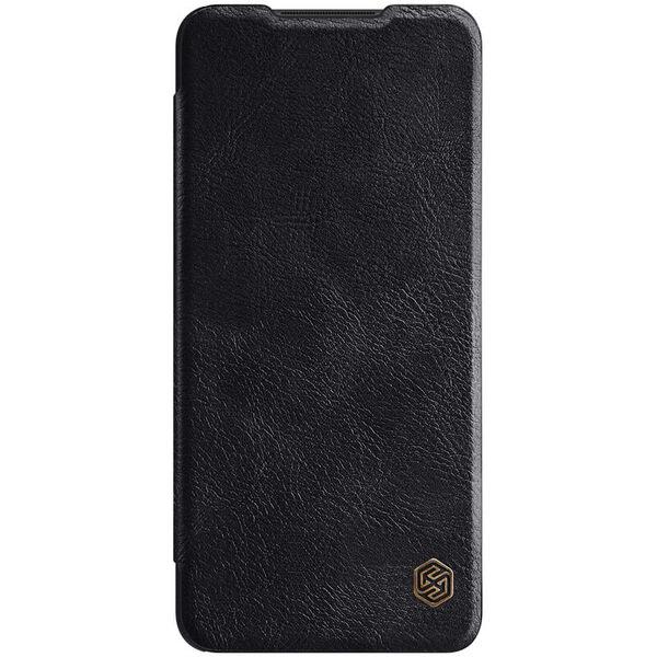 Калъф от Nillkin Qin Book Case за Samsung Galaxy A12 - Black