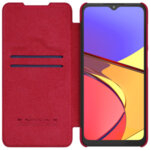Калъф Nillkin Qin Book Case for Samsung Galaxy A12 Red