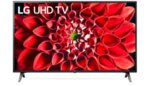 """LG 43UN711C0ZB, 43"""" 4K UltraHD IPS TV 3840 x 2160, DVB-T2/C/S2, Smart TV,  4K Active, HDR10 Pro, HLG,  Built-in Wi-Fi, Component, composite, HDMI, LAN, USB, Bluetooth, CI, Hotel mode, Ceramic"""