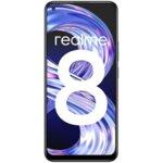 Смартфон Realme 8, Dual SIM, 128GB, 6GB RAM, 4G, Cyber Black