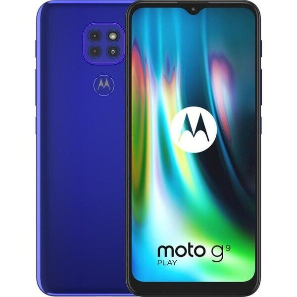 Motorola Moto G9 Play LTE 64GB, Dual Sim  Blue