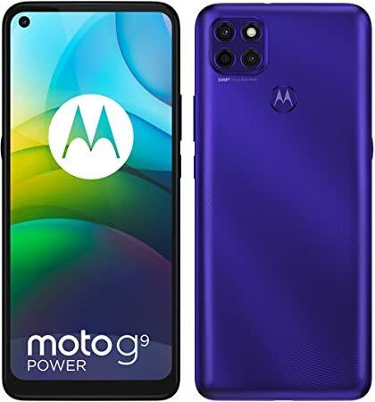 Смартфон Motorola Moto G9 Power LTE 128GB, Dual Sim  Purple