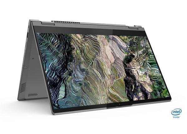 """Lenovo ThinkBook 14s Yoga Intel Core i7-1165G7 (2.8GHz up to 4.7GHz, 12MB), 16GB (8GB+8GB) DDR4 3200MHz, 512GB SSD, 14"""" FHD (1920x1080) IPS Glossy, Touch, Intel Iris Xe Graphics, WLAN, BT,"""