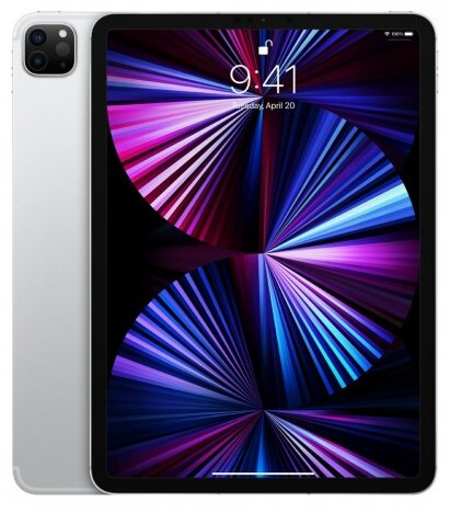 Таблет Apple 11-inch iPad Pro (3nd) Cellular 128GB - Silver