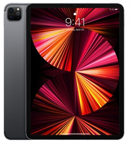 Таблет Apple 11-inch iPad Pro (3nd) Cellular 256GB - Space Gray