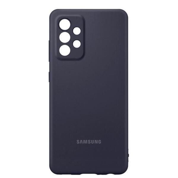 Калъф Samsung Silicone Cover за Samsung Galaxy A52 Black