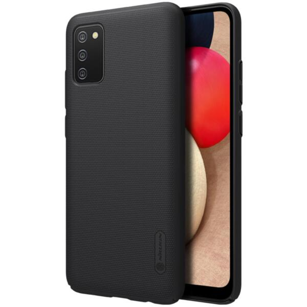 Калъф от Nillkin Super Frosted Back Cover за Samsung Galaxy A02s Black