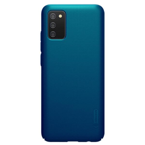 Калъф от Nillkin Калъф Super Frosted Back Cover за Samsung Galaxy A02s Peacock Blue
