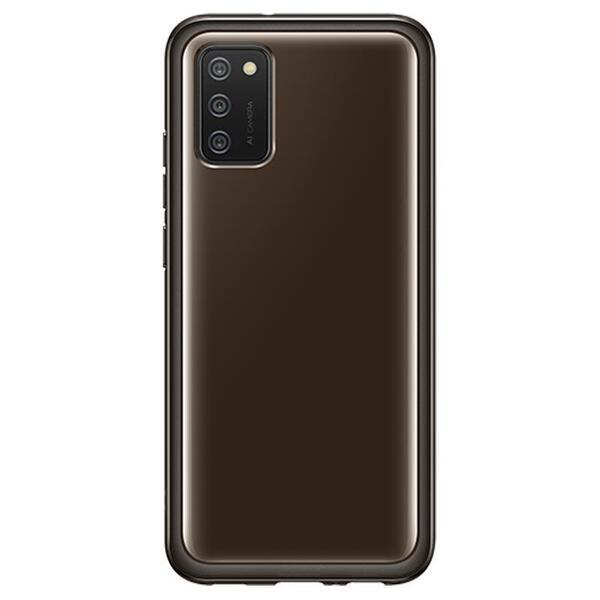 Калъф от Samsung Soft Clear Cover за Galaxy A02s Black