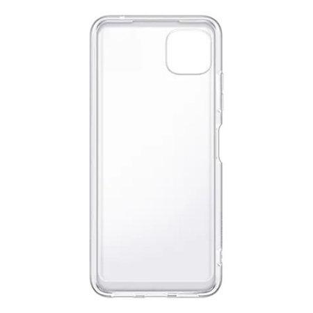 Калъф от Samsung Soft Clear Cover за Galaxy A22 5G Transparent