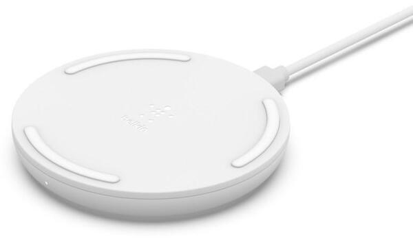 Безжично зарядно от Belkin BOOST_CHARGEª 10W  + QC 3.0 Wall Charger + Cable - White