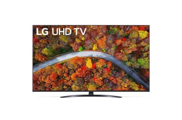 "LG 55UP81003LR, 55"" 4K IPS UltraHD TV 3840 x 2160, DVB-T2/C/S2, webOS Smart TV, ThinQ AI, Quad Core Processor 4K, WiFi 802.11ac, HDR10 PRO 4K/2K, AI Sound, Voice Controll, Miracast / AirPlay"