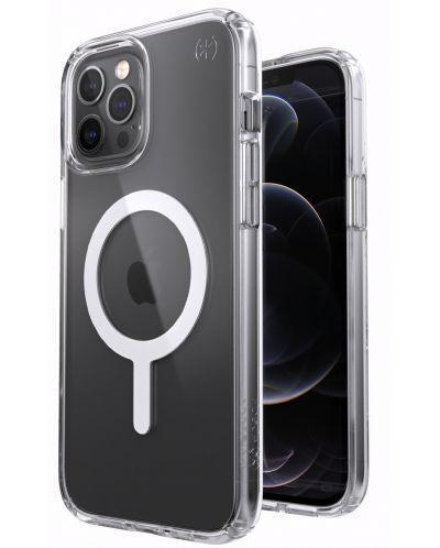 Калъф от Speck за iPhone 12 (Pro) PRESIDIO PERFECT-CLEAR + MagSafe - Clear