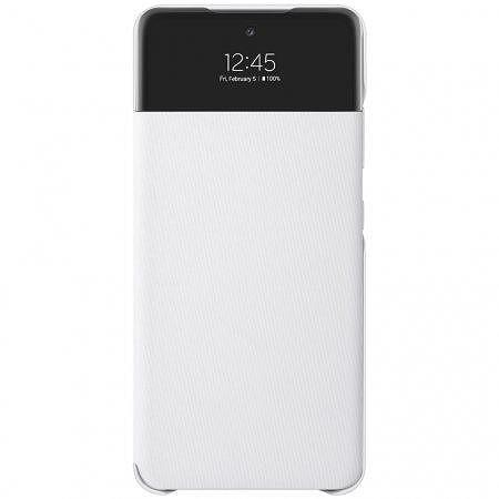 Калъф от Samsung S-View Case за Galaxy A72 - White