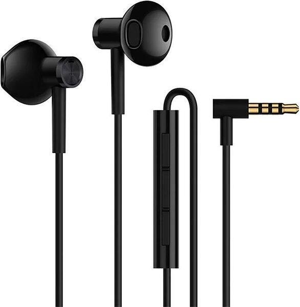 Слушалки Xiaomi Mi Dual Driver Earphones with Microphone 3.5mm Black (Damaged Package)