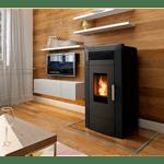 Pellet boiler stove Alfa Plam Commo 21, 21kW