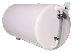 Cylindrical expansion vessel for open system, Horizontal model