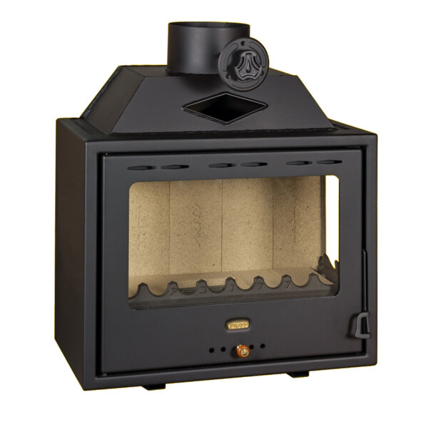 Wood Burning Fireplace Prity PS2 Left/Right, 10kW
